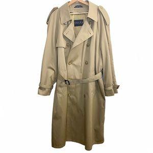 Ralph Lauren Classic Long trench coat with belt